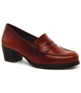 Zapato kiova en en piel cuero