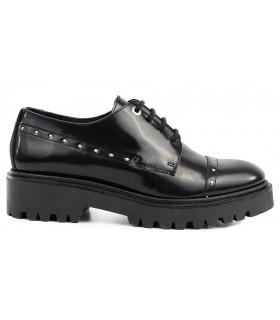 Zapatos de cordones en florentic negro