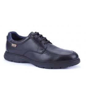 Zapato corte clásico en piel negra