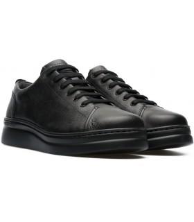 Zapatos de cordones color negro para mujer