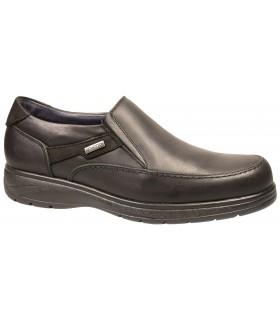Zapato mocasín negro para hombre