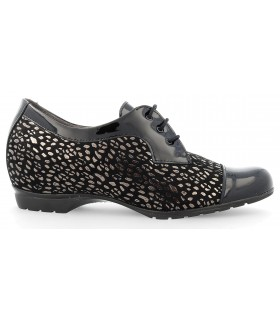 Zapatos de cuña estampados