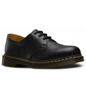 Zapatos de cordones con vira amarilla