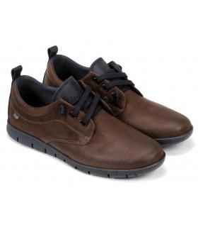 Zapato marrón con cordones