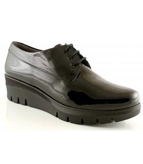 Zapatos de cordones con plataforma