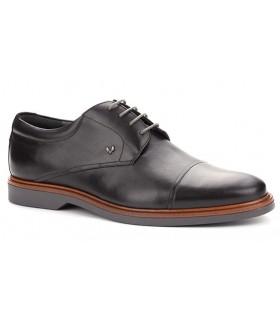 Zapato de cordones Oxford negro