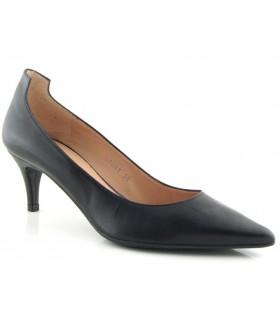 Zapato corte salón con tacón fino