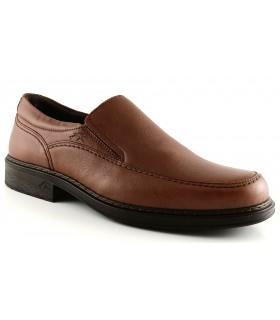 Zapato clásico en color cuero
