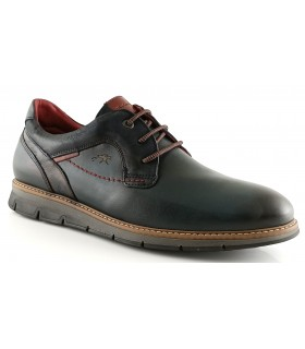 Zapato con pala lisa en color azul marino