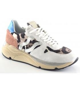 Deportivo tipo sneakers animal print