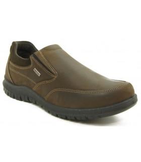 Zapato marrón con membrana interior
