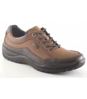 Zapatos en color marrón con membrana