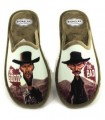 Zapato de cordones azul marino con Gore-Tex