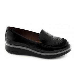 Zapatos con picado María y forro Gore-Tex