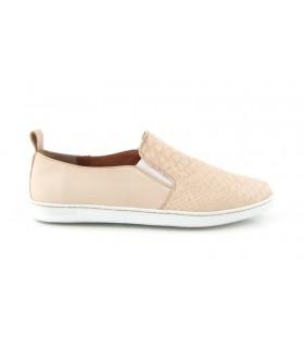 Zapato Mocasín mujer LUIS GONZALO 3908M ARENA