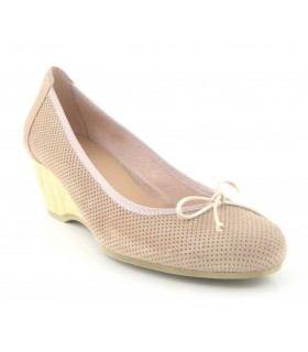 Zapato Salón mujer FUNCHAL 7831 TAUPE