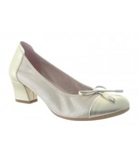 Zapato confort napa platino