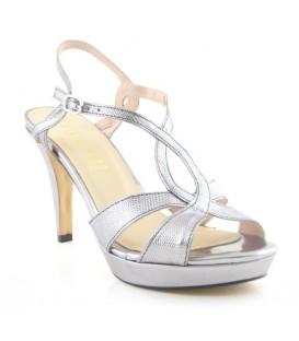 Sandalia de vestir con plataforma