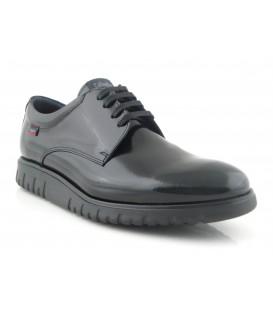 Zapato de cordones en florentic negro
