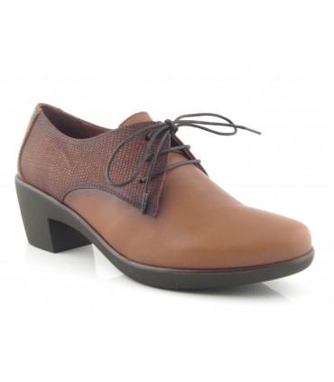 Zapatos de cordones para mujer