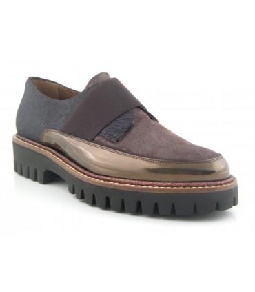 Zapatos de doble suela con elástico