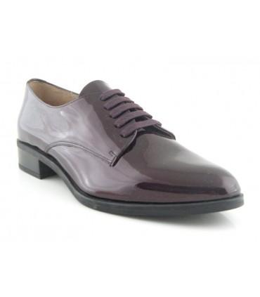 Zapatos burdeos de charol