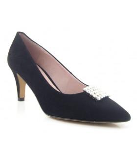 Zapato salón mujer pedrería