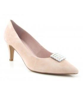 Zapato mujer pedrería