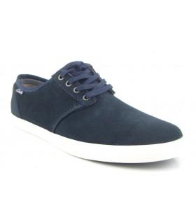 Zapato marino con suela blanca