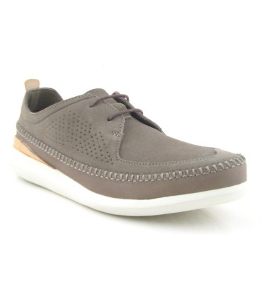 Zapato para hombre suede kaki