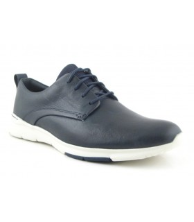 Zapato Cordones hombre CLARKS TYNAMO WALK MARINO