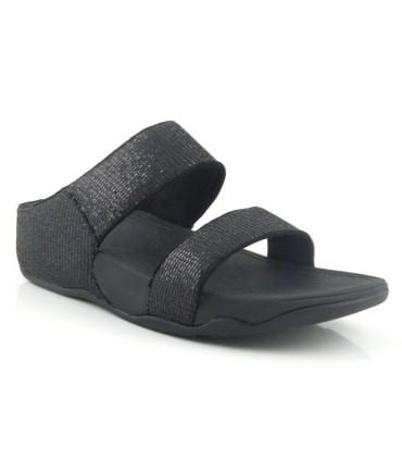 Sandalia de confort negra