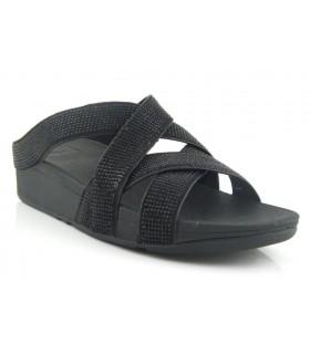Sandalia elástica de confort