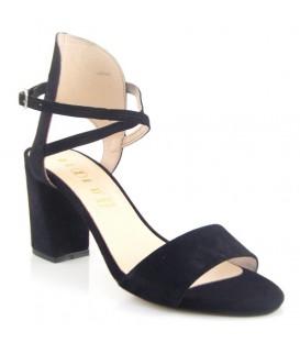 Sandalia de vestir negra