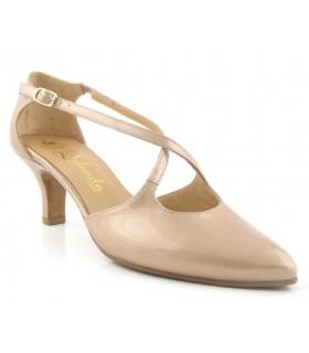 Zapatos de vestir con tiras cruzadas