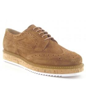 Zapato Cordones mujer ALPE 31691167 CUERO