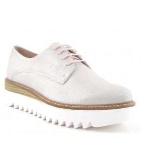 Zapato Cordones mujer ALPE 32946762 METALIZADO
