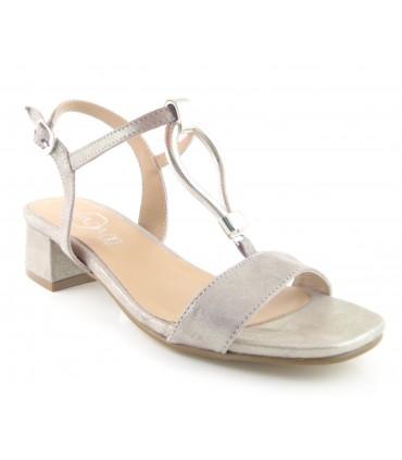 Sandalia de vestir plana