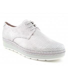 Zapatos de suela ancha color acero