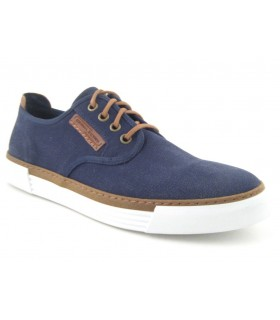 Zapatos de cordones color navy