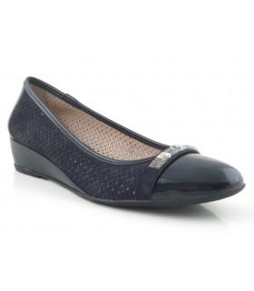 Zapato confort marino