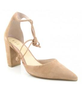 Zapato salón tobillero