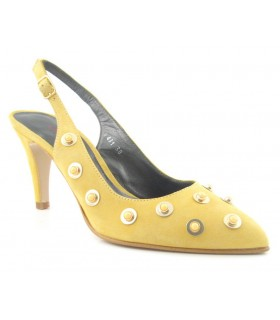 Zapato de Vestir mujer LAURA AMAT 12027 140 MOSTAZA