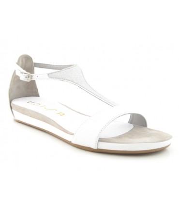 Sandalia blanca para mujer