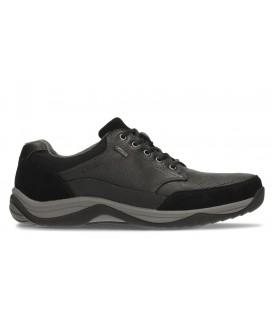 Zapato negro con Gore-tex