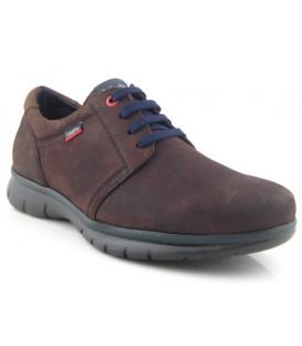 Zapato de cordones marrón