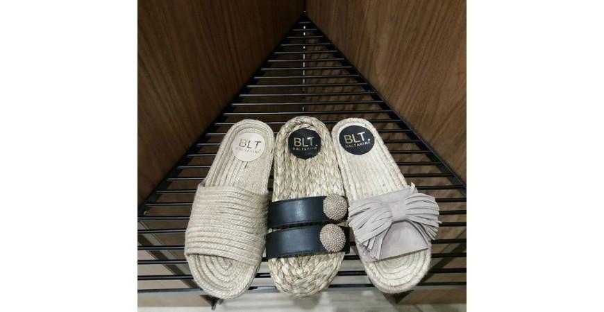 Sandalias de yute de Baltarini