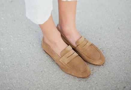Tendencia de zapatos mocasines