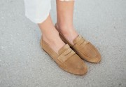 Tendencia de zapatos mocasines